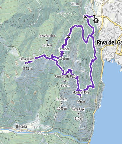 Karte / riva west