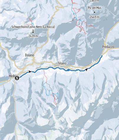 Map / Marcialonga track