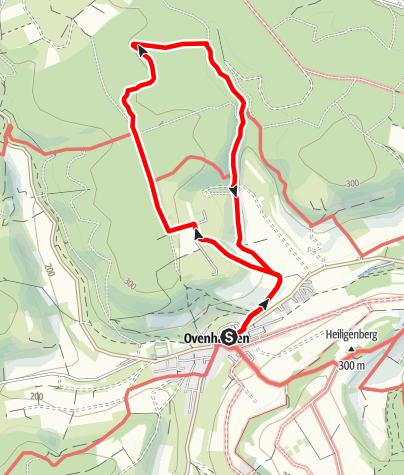 Karte / Ovenhausen Wanderweg I      (8,3 km)