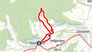 Karte / Ovenhausen Wanderweg I A      (6,5 km)