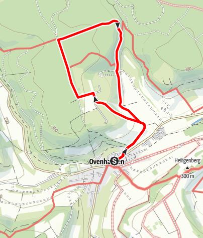Kaart / Ovenhausen Wanderweg I C      (6,7 km)
