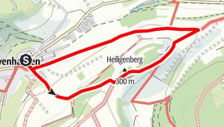 Karte / Ovenhausen Wanderweg II      (5 km)