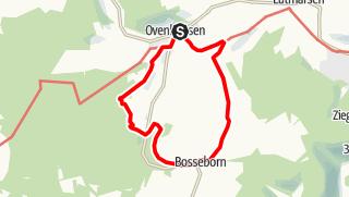 Karte / Ovenhausen Wanderweg III      (10,6 km)