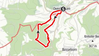 Karte / Ovenhausen Wanderweg IV      (9 km)