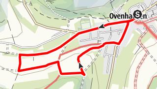 Kaart / Ovenhausen Wanderweg V A      (4,0 km)