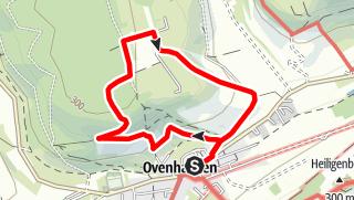 Karte / Ovenhausen Wanderweg VI      (8,3 km)