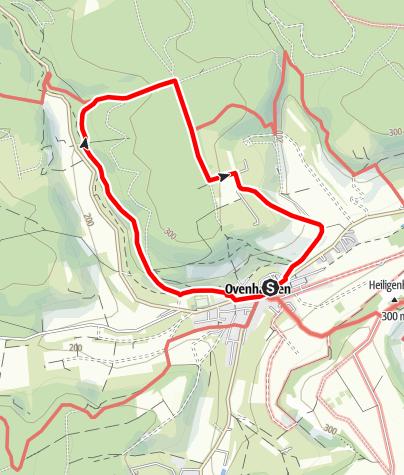 Karte / Ovenhausen Wanderweg VII      (7,0 km)