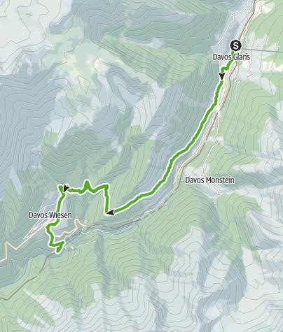 Map / 789 Zügenschlucht (Zügen Gorge)