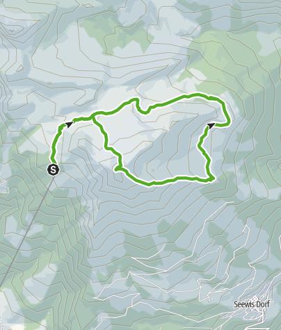 Karte / 674 Vilan Rundtour