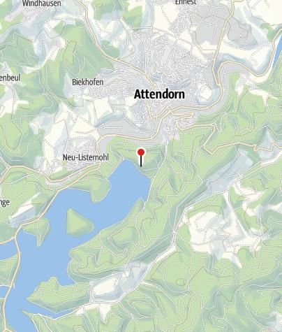 Karte / Aussichtsplattform Biggeblick