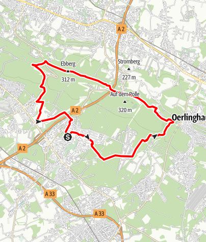 Karte / B+H-2019-01-24: Sennestadt - Hermannsweg