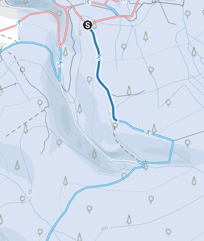 Karte / Verbindungsloipe Altenau - Nationalpark-Loipen