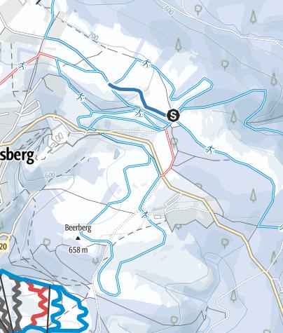 Karte / Abkürzung Jordanshöhe
