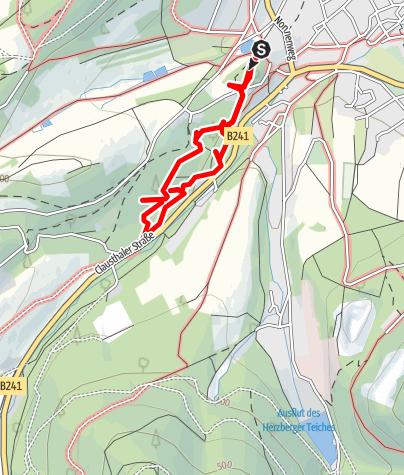 Karte / Walderlebnispfad Goslar