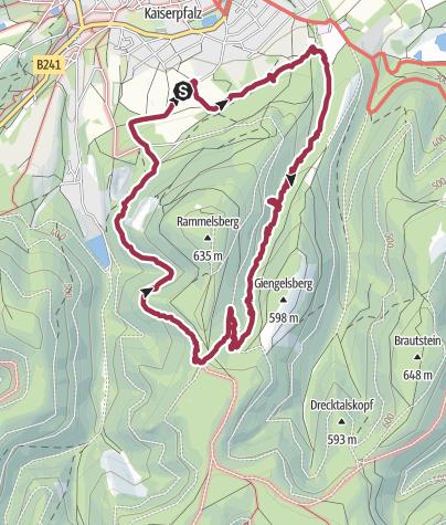 Karte / Mit Cora zur Waldschratquelle II