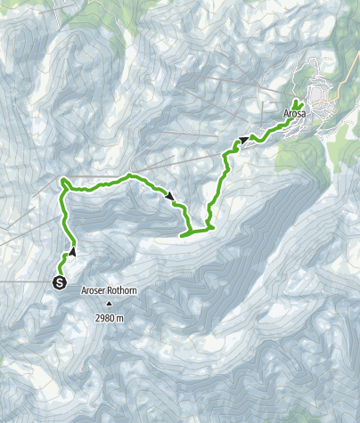 Map / 685 Schwellisee-Route