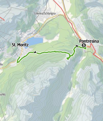 Karte / 804 Muottas da Schlarigna