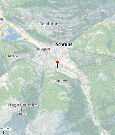 Kaart / Twin Residences Salzgeber