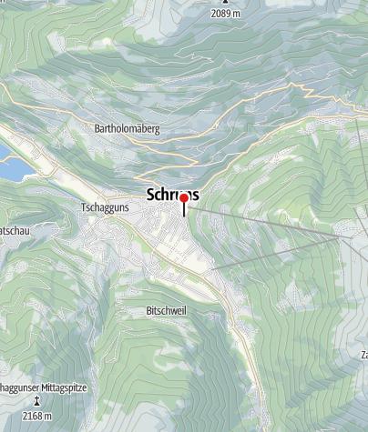 Karte / Hirschen Appartements