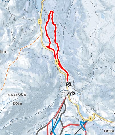 Karte / Bivio - Stalvedro - Bivio