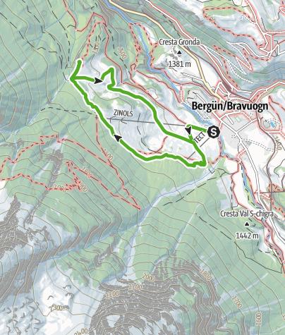 Map / Bergüner Holzweg