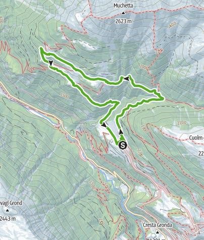 Karte / Heidis Bergwelt