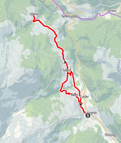 Karte / Dörfer E-Bike Tour