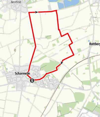 Karte / Rottberg