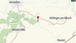 Karte / Parkplatz Heuweghütte