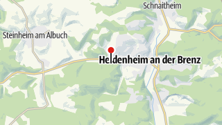 Karte / Parkplatz am Hochberg Skilift
