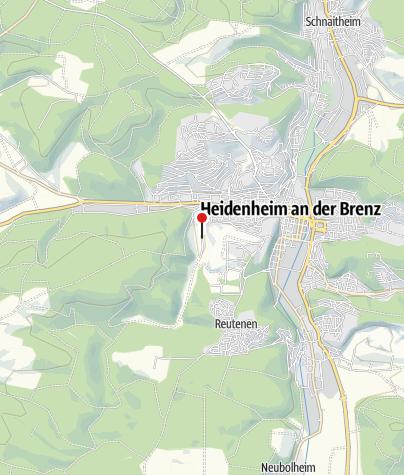 Karte / Parkplatz Talhof