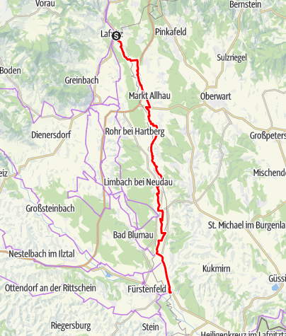 Karte / Paradiesroute Etappe 2