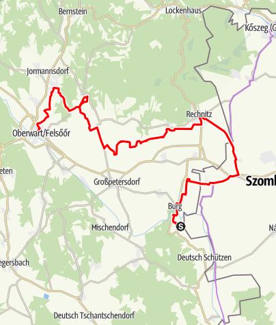 Karte / Paradiesroute Etappe 6