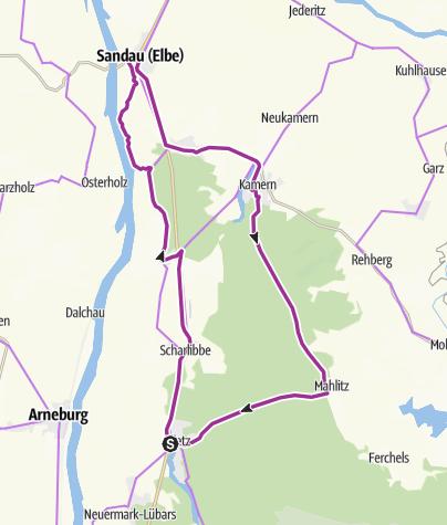 Karte / R2 Drei-Seen-Route
