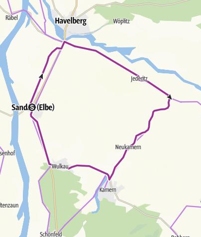 Karte / R5 Appelhorstroute