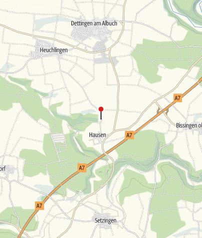 Karte / Eitenberghütte