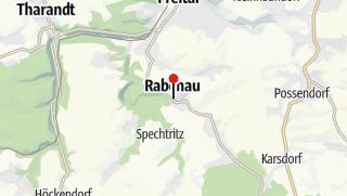 Karte / Parkplatz - Rabenau