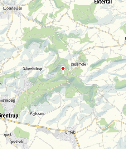 Karte / Burg Sternberg in Extertal
