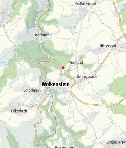 Karte / Gasthaus - Pension Waldfrieden