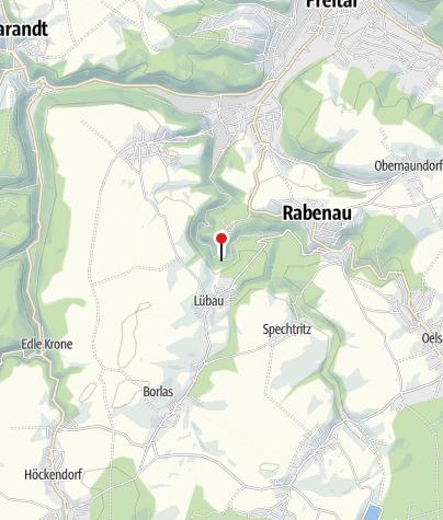 Karte / Planwiese