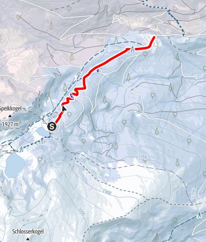 Map / Rodelbahn Winterleiten-Seetaleralpen