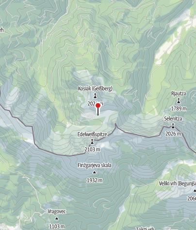 Karte / Klagenfurter Hütte