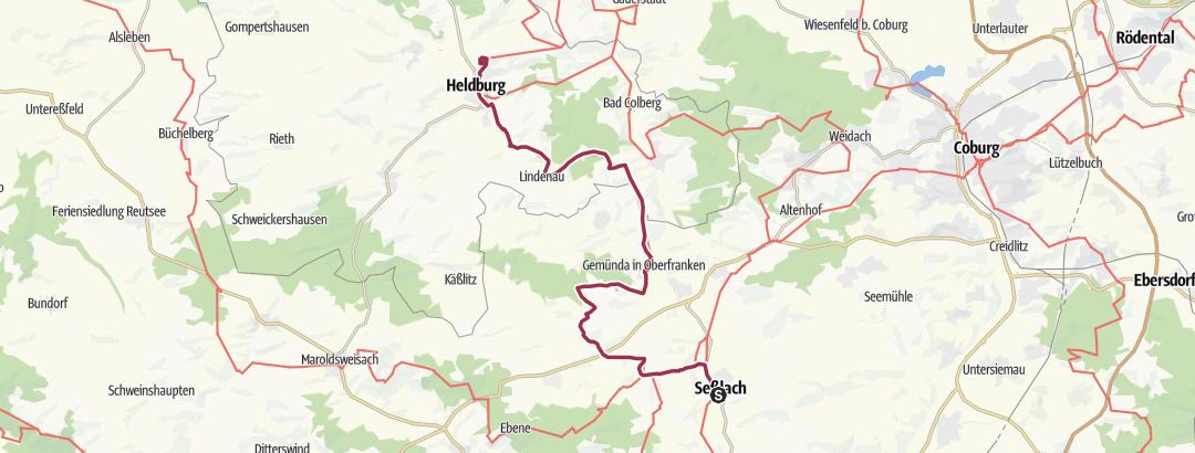Static Map Grenzlandweg