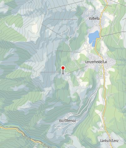 Map / Mountain Hotel Restaurant Tgantieni