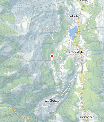 Karte / Bergrestaurant Acla Grischuna