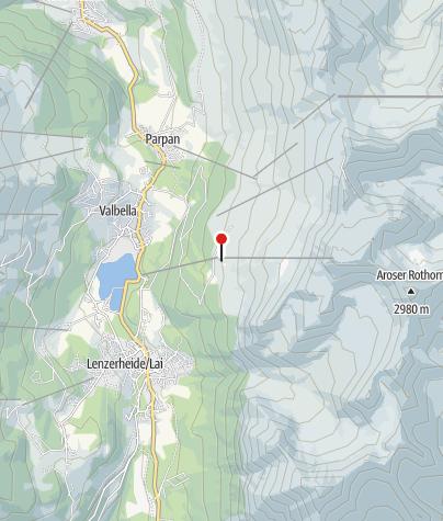 Map / Mountain Restaurant Scharmoin