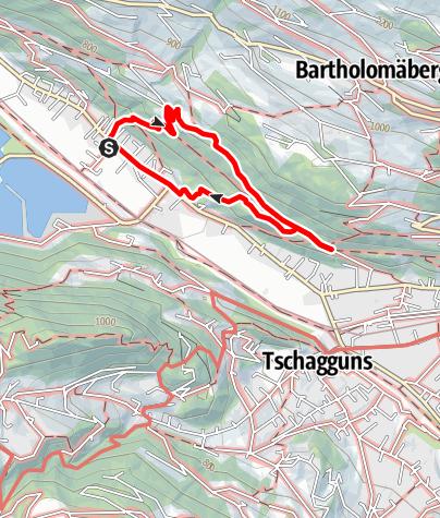 Karte / Rundgang Gantschier