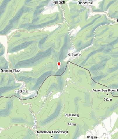 Map / Burgruine Wegelnburg