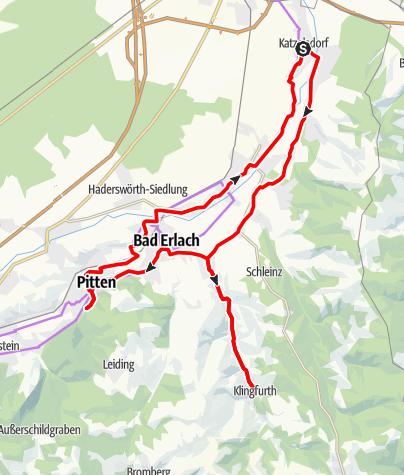 Karte / KulTour – Route