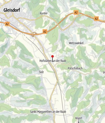 Karte / Region Gleisdorf   Cafe Durlacher